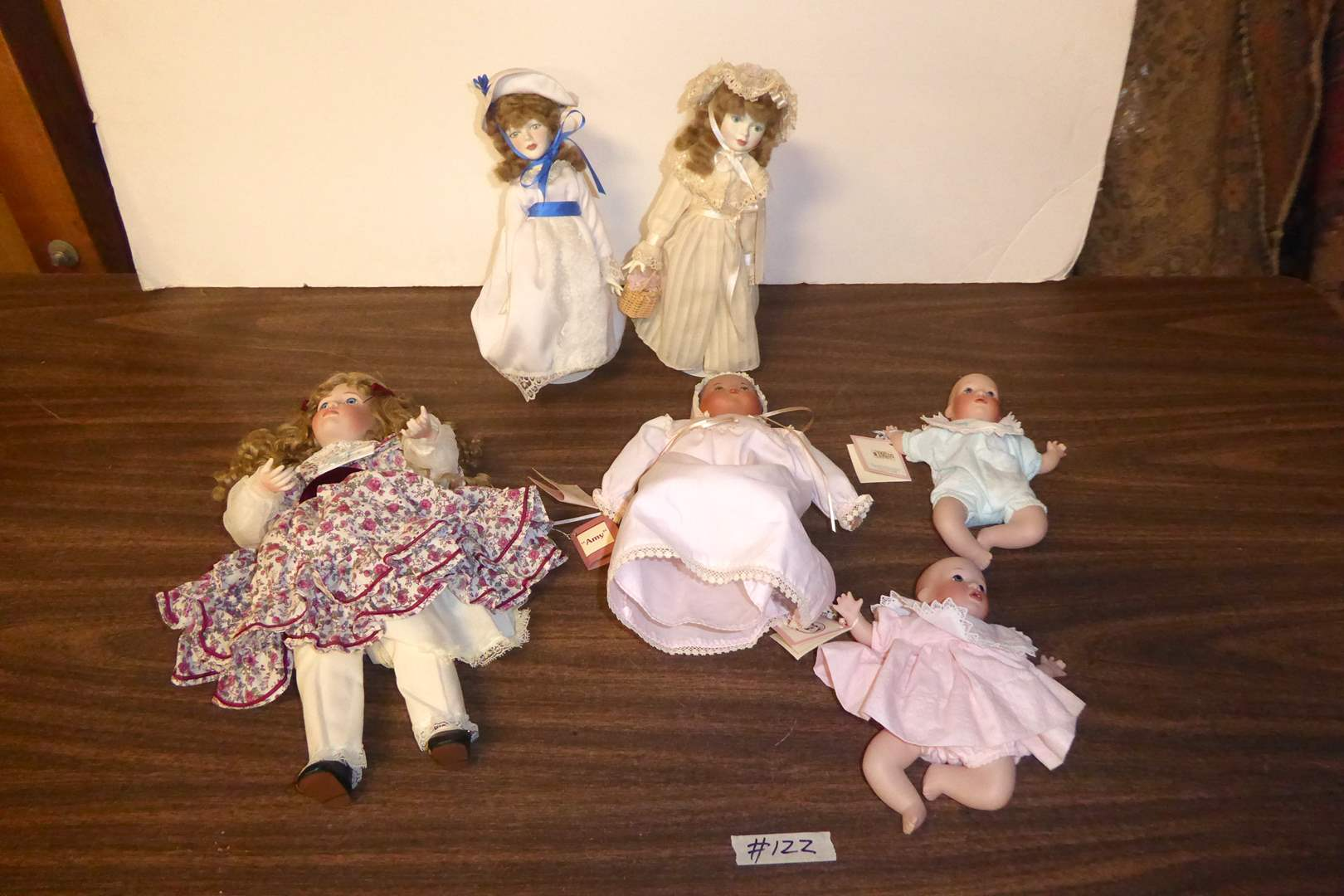 Lot # 122 - Dolls (Royal Doulton, Wendy Lawton & JBL)  (main image)