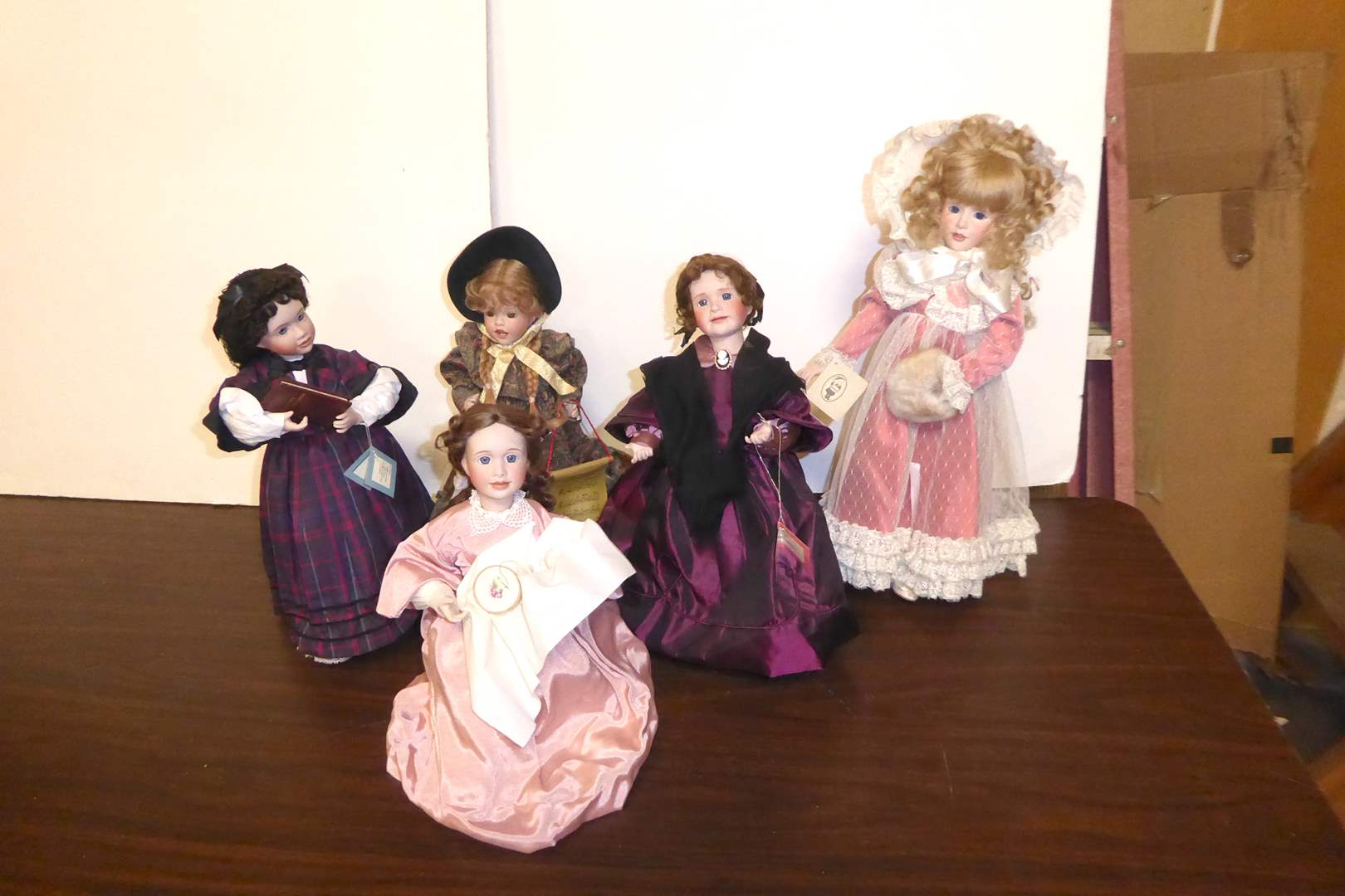 Lot # 124 - Wendy Lawton Collectible Dolls  (main image)