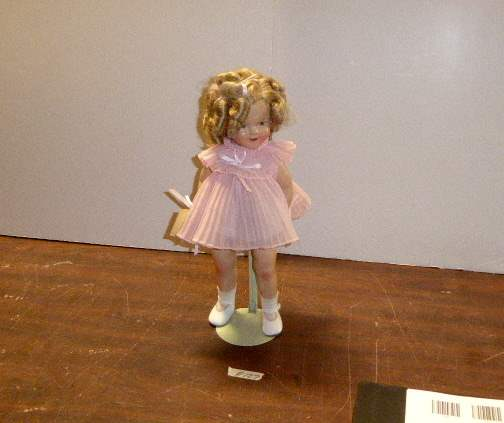 """Lot # 127 - Wendy Lawton """"Shirley Temple Doll""""   (main image)"""