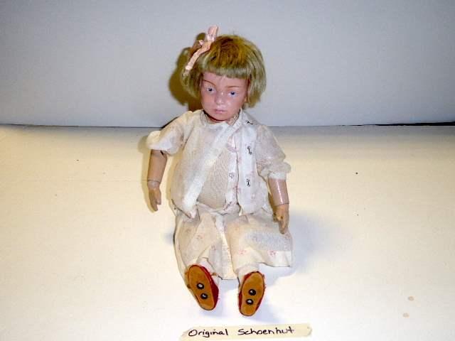 Lot # 150 - Schoenhut Wigged Doll  (main image)