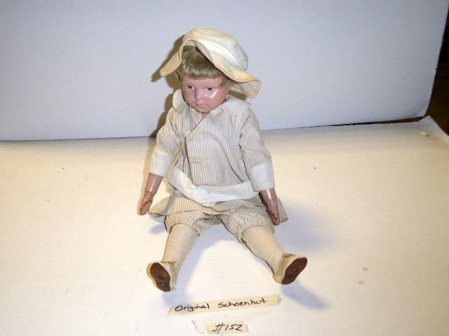 "Lot # 152 - Schoenhut ""Early"" Wigged Doll  (main image)"
