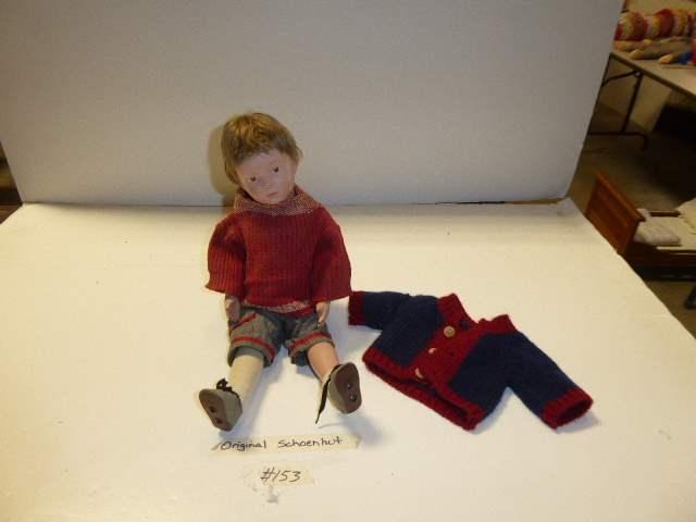 Lot # 153 -Schoenhut Wigged Doll (main image)