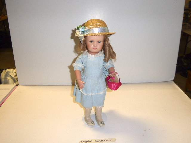"Lot # 163 - Schoenhut Doll ""Miss Dolly"" With Moving Eyes  (main image)"