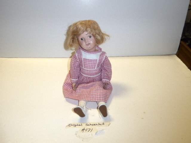 "Lot # 171  - Schoenhut Doll ""Miss Dolly""  (main image)"