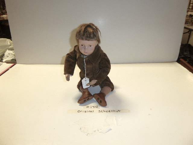 Lot # 174  - Schoenhut Wigged Doll  (main image)