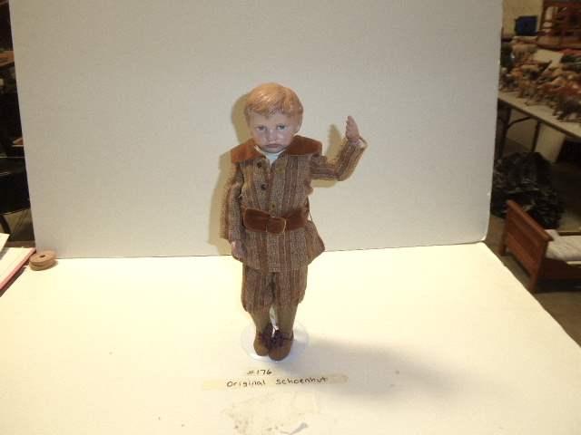 Lot # 176 - Schoenhut Carved Hair Doll  (main image)
