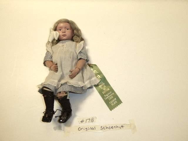 Lot # 178 - Schoenhut Wigged Doll  (main image)