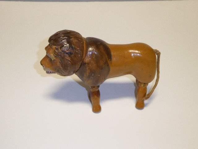 Lot # 185 - Schoenhut Lion (Painted Eyes) (main image)