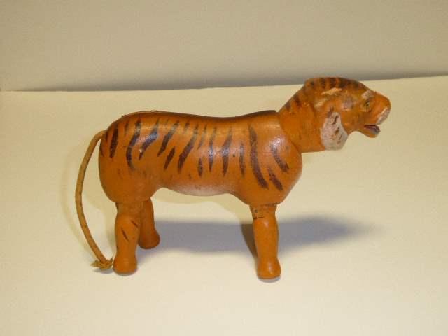 Lot # 193 - Schoenhut Tiger (Painted Eyes)  (main image)