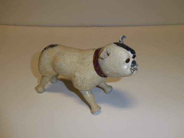 Lot # 198 - Schoenhut Bulldog Glass Eyes (main image)