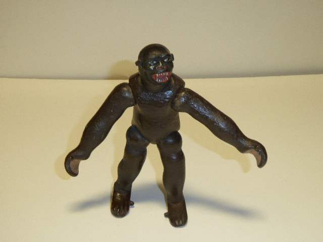 Lot # 209 - Schoenhut Gorilla Style I (Leather Ears/Two Part Face) (main image)