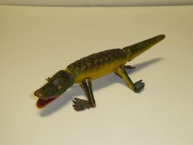 Lot # 215 - Schoenhut Aligator (Glass Eyes)  (main image)