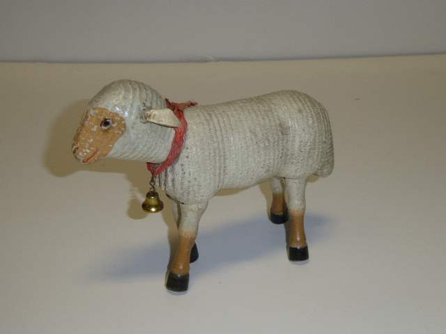 Lot # 223 - Schoenhut Sheep (Painted Eyes)  (main image)