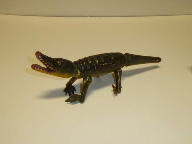Lot # 226 - Schoenhut Aligator (Glass Eyes)  (main image)