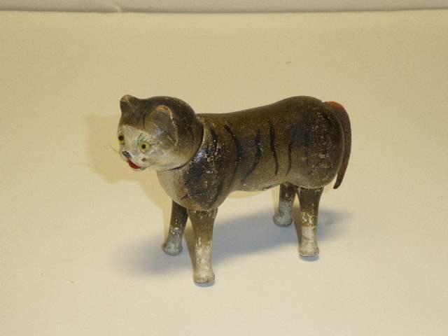 Lot # 227 - Schoenhut Cat (Glass Eyes)  (main image)