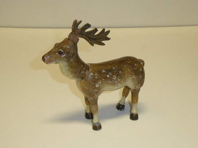 Lot # 228 - Schoenhut Deer (Glass Eyes)  (main image)