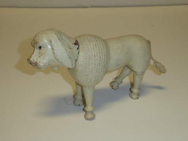 Lot # 231 - Schoenhut Poodle (Painted Eyes)  (main image)