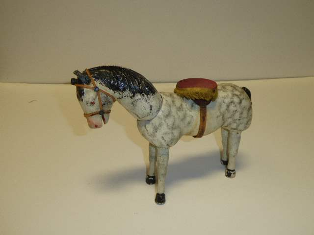 Lot # 242 - Schoenhut White Horse (Painted Eyes)  (main image)