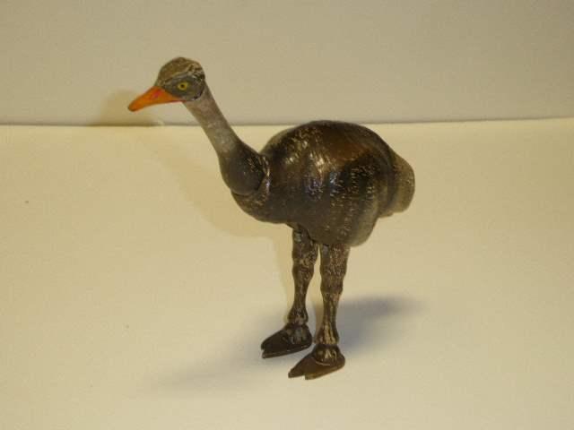 Lot # 246 - Schoenhut Ostrich (Painted Eyes) Closed Beak  (main image)