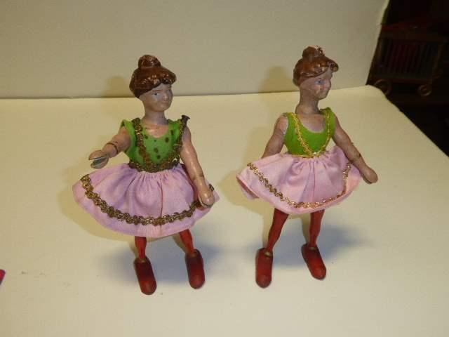 Lot # 265 - Two Schoenhut Lady Circus Riders  (main image)