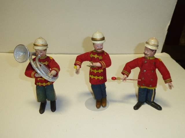 Lot # 274 - Three Schoenhut Band Men  (main image)