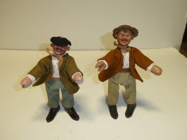 Lot # 281 -  Two Schoenhut Hobo Dolls  (main image)