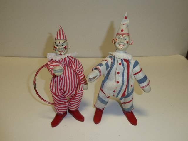 Lot # 285 - Two Schoenhut Clowns  (main image)