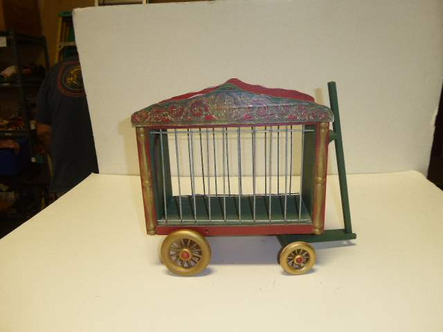 Lot # 298 - Schoenhut Collecters Club Cage Wagon  (main image)
