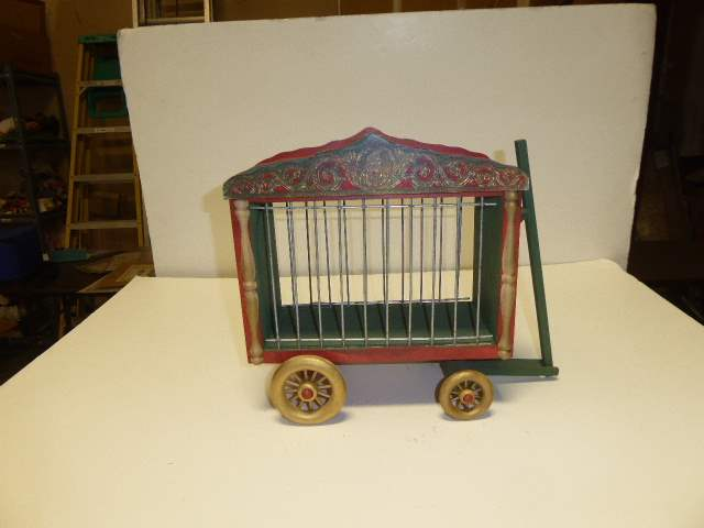 Lot # 299 - Schoenhut Collecters Club Cage Wagon (main image)