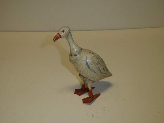 Lot # 308 - Shoenhut Goose Style I (Painted Eyes) Concave Cheeks   (main image)