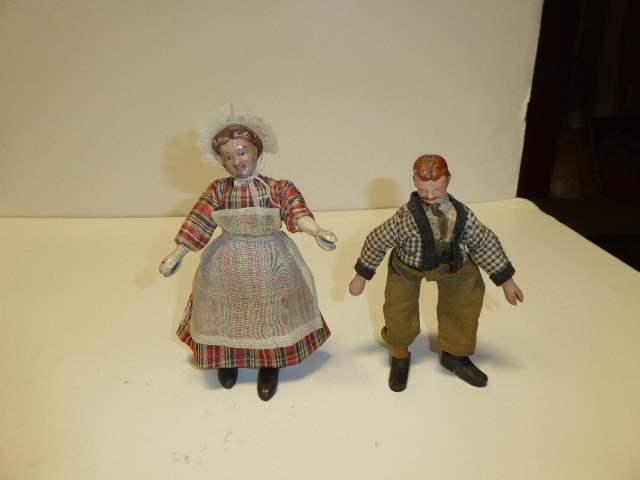 Lot # 309 - Schoenhut Dolls  (main image)
