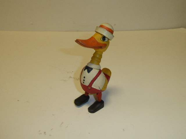 Lot # 315 - Schoenhut Wood Quacky Doodles BABY DANNY DADDLES Duck  (main image)