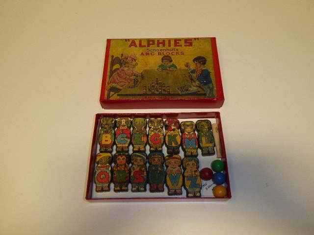 Lot # 316 - Schoenhut - Alphies ABC Blocks  (main image)