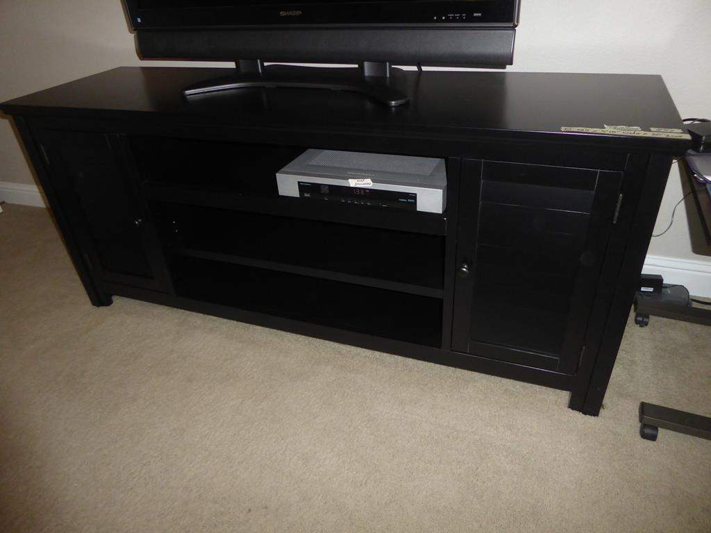 Lot # 89 - Black TV Stand  (main image)