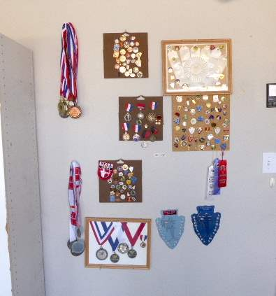 Lot # 114 - Archery Awards, Medals & Pins  (main image)