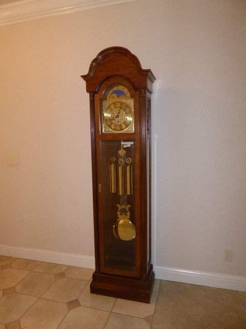 Lot # 7 - Ridgeway Grandfather Clock  (main image)