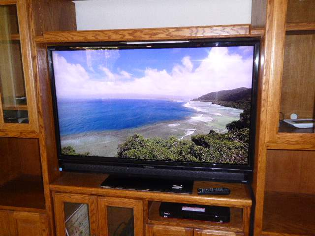 """Lot # 15 - Mitsubishi LT-52153 52"""" LCD HDTV W/integrated 16-Speaker Surround System & Energy ESW Subwoofer  (main image)"""