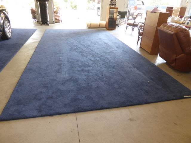 Lot # 39 - Giant Rug - Used For Classic Car Shows  (main image)