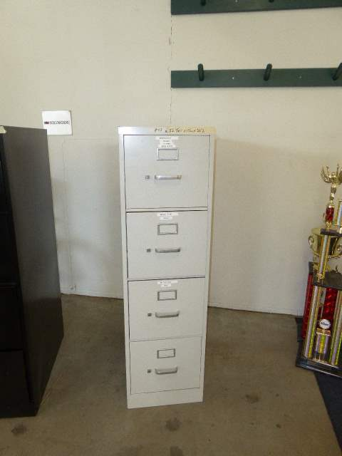Lot # 43 - HON Filing Cabinet  (main image)