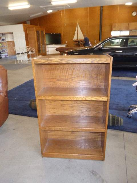 Lot # 48 - Nice Wooden Bookshelf  (main image)