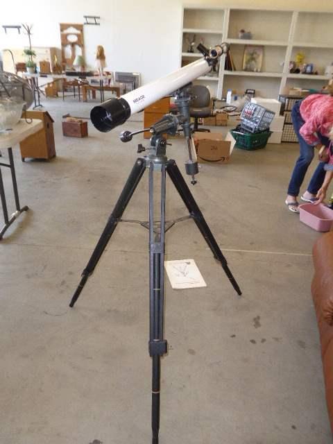 Lot # 52 - Meade  Model 285 Telescope W/Tripod  (main image)