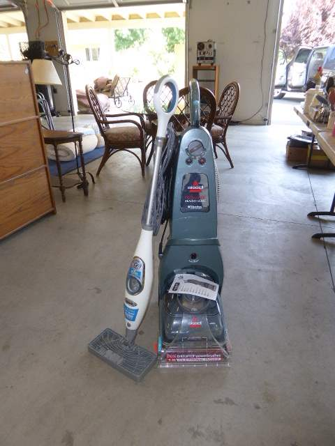 Lot # 53 - Bissell Pro Heat 2X & Shark Sonic Steam Mop  (main image)