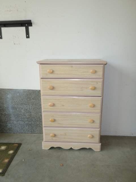 Lot # 87 - Cute Five-Drawer Dresser  (main image)