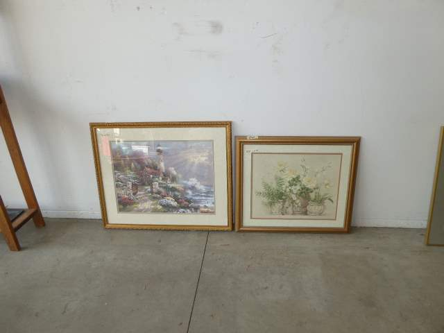 Lot # 94 - Two Framed Prints  (main image)
