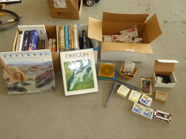 Lot # 96 - Miscellaneous Books & Office Supplies  (main image)