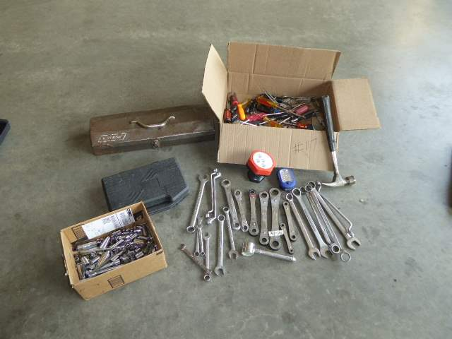 Lot # 117 - Craftsman Wrenches, Miscellaneous Sockets, Bits & Tools   (main image)