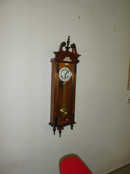 Lot # 106 - 31day Wall Clock - Key Wind (main image)