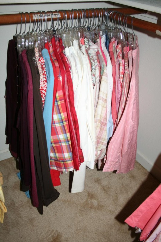 Lot #84 - Large Lot of Long Sleeve Shirts/Blouses Sz Medium & Small (main image)