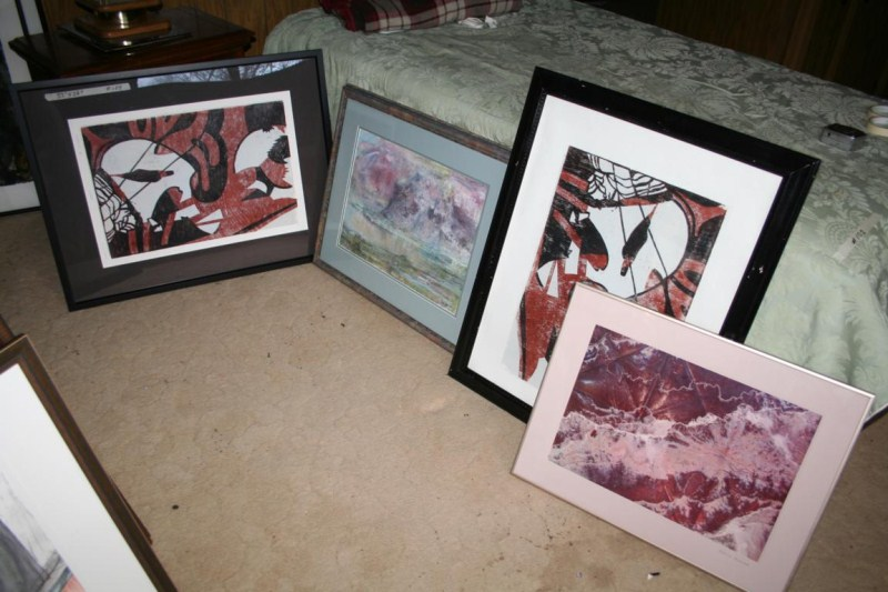Lot #104 - 4 Pieces of Artwork - All Signed Smith-Morse (main image)