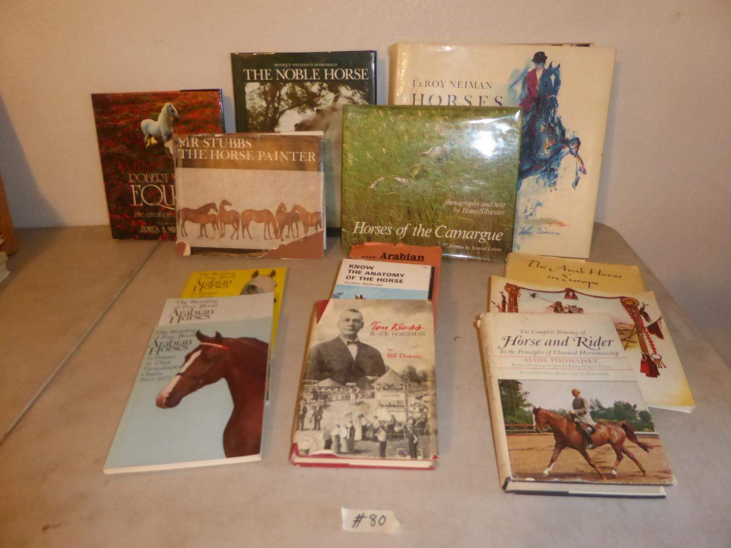Lot # 80 - Vintage Horse Books Collection (main image)